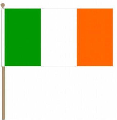 12 Stück Irland (irland) (22.9cm X 15.2cm) Hand Winkfahne üBerlegene Leistung