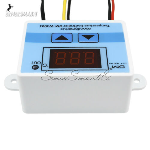 DM-W3001 Digital LED Temperature Controller Thermostat Control Switch Cable SE