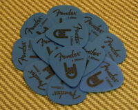 098-7351-900 Rock-on Touring Picks (12) Heavy 1.00 Genuine Fender Blue Delrin