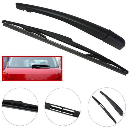Car Back Rear Window Wiper Arm /& Blade For PEUGEOT 307 SW ESTATE 2002-2008 Black