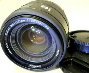 Minolta-Maxxum-35-105mm-f3-5-4-5-AF-Lens-SONY-A-mount-37-57-65-67-68-MINT