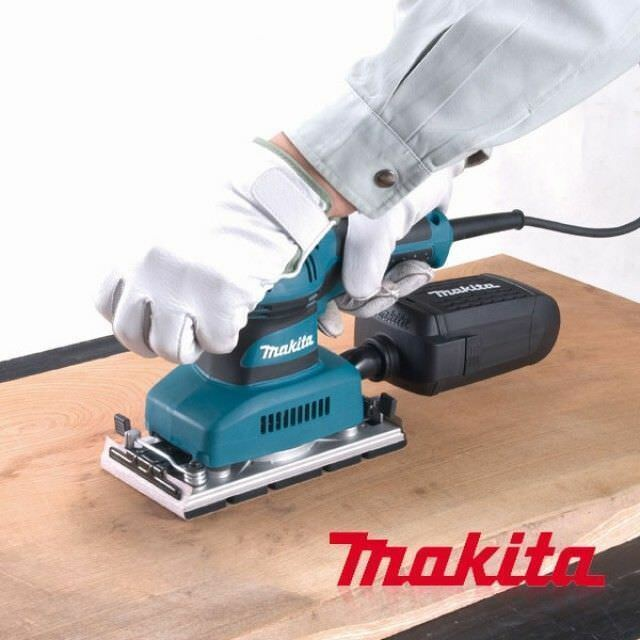 MAKITA Corded Electric Finishing Sander BO3711 190W 93x185mm Smooth Sanding_0C