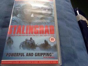 STALINGRAD-VHS-VIDEOTAPE