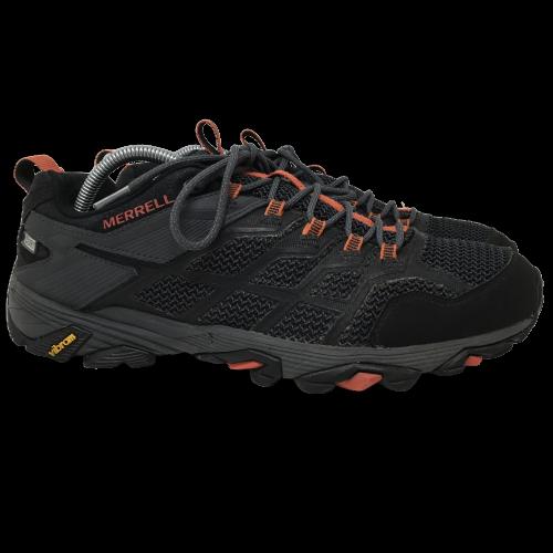 Merrell Mens Moab FST 2 GTX Shoes Gore-Tex Vibram Black Granite J77443 Size 11