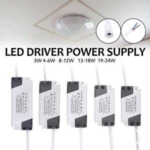 Controlador-de-luz-LED-de-panel-de-muchos-3-24W-Fuente-de-Alimentacion-Transformador-Electronico