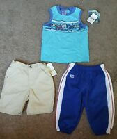 Infant Boys Lot Of Clothing, 3 Pieces, Sz. 12 Mo.