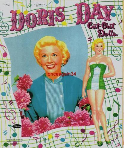 VINTAGE UNCUT 1954 DORIS DAY PAPER DOLLS~#1 REPRODUCTION~CLASSIC SET~FABULOUS!