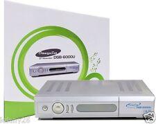 Original Omegasat DSB-6000u Digital Satellite Receiver: C/Ku Band, Free To Air