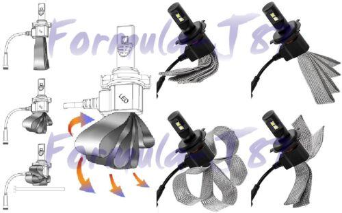 LED Kit C1 60W H15 3000K Yellow Two Bulbs Head Light DRL Daytime High Beam Lamp