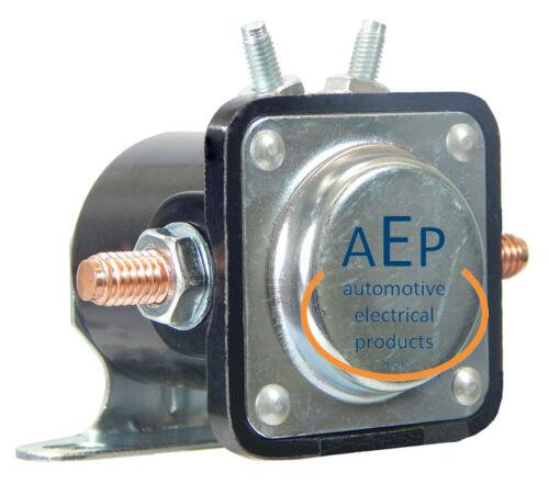zur Steuerung von Anlassern und DC-Motoren Externer Magnetschalter 24V 100Amp