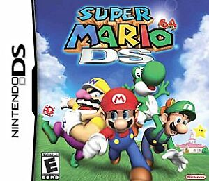 Super-Mario-64-DS-Nintendo-DS-2004-GAME-ONLY-TESTED-AND-WORKING-A-CLASSIC