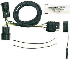 Peachy Hoppy 40185 Plug In Simple Trailer Hitch Wiring Kit For 05 08 Ford F Wiring 101 Cranwise Assnl