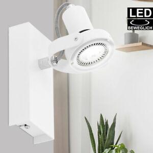Spot Innenraum Wand Strahler Lampe Leuchte Beleuchtung beweglich Licht Flur Büro