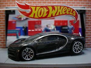 Hot wheels Bugatti Chiron Noir//Black 2020