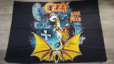 Ozzy Osbourne bark at the moon hardrock music Vintage metal poster FLAG