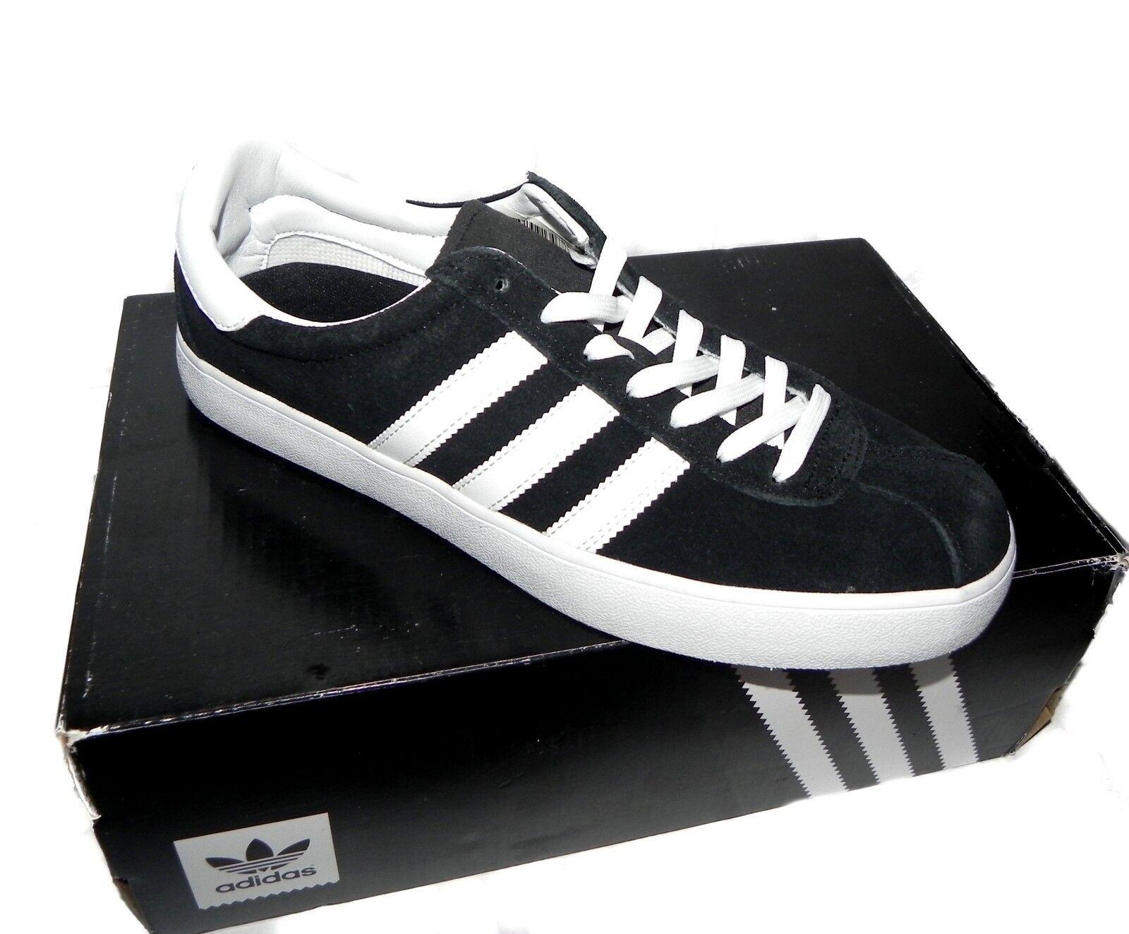 Adidas Men's Skate ADV Black White Sneakers size 8.5 BB87New With Box
