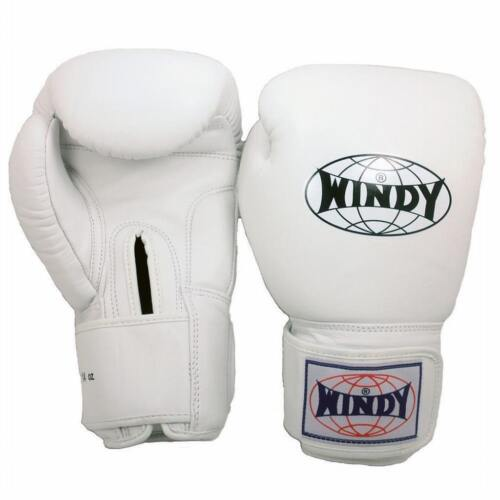 WINDY BGVH GLOVES SELECT COLORS/&SIZE MUAY THAI TRAINING SPARRING MMA KICK BOXING