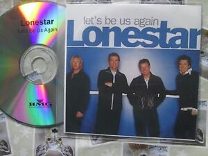 Lonestar-Let-039-s-Be-Us-Again-Label-BNA-Records-13-track-UK-Promo-CD-Album