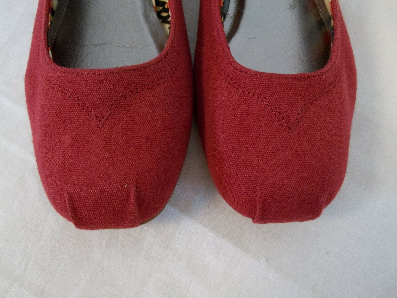 material  girl macy taille 6 m nona Rouge  material flats nouveau  s chaussures bab494