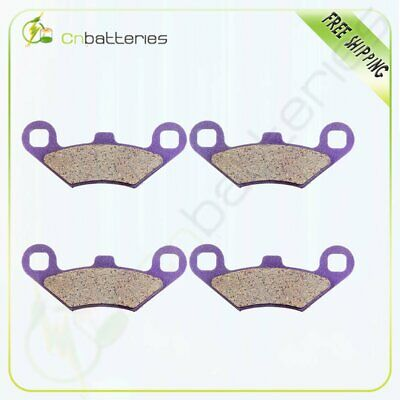 Volar Sintered HH Front /& Rear Brake Pads for 2000 Polaris Xpedition 425 4x4
