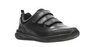 negro Shoes thrill' Boys Clarks School 'hula fXnqwOp