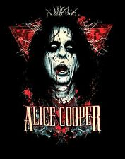 ALICE COOPER cd lgo DECAP DECAPITATED HEAD Official SHIRT MED new