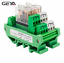 GEYA-2-Channel-Omron-Relay-Module-2NO2NC-DPDT-PLC-RELAY-Interface-12V-24V-AC-DC miniature 1