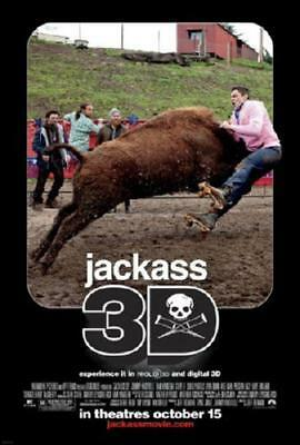 Jackass 3D Movie Poster 24in x 36in