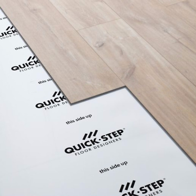 Cheap 90m2-2mm Acoustic Comfort White Underlay Wood Laminate Flooring