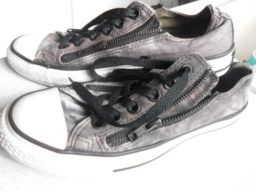Converse Uk zapatillas de Goth cordones all Rock con y Star cordones Unisex Zip 5 Gorgeous rT85FRrWwq