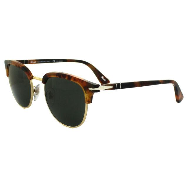 7e55190bfa4 Persol PO 3105s 108 58 CAFFE Frame Grey Green Polarized Lens Sunglasses 51