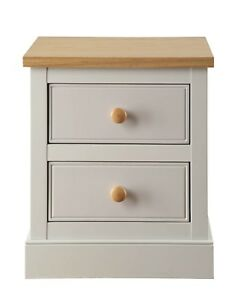Soft Stone Grey Bedside Cabinets