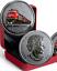 1919-2019-CN-Rail-100th-Anniversary-25-cent-35mm-Coloured-Coin-Canada miniature 4