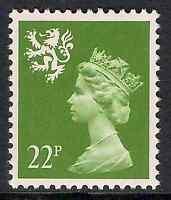 Scotland 1984 S48 22p litho phosphorised paper perf 14 type I MNH