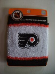 NHL-Wristband-Philadelphia-Flyers-Athletic-Sport-Team-Colors-One-Size-Misc-NIP