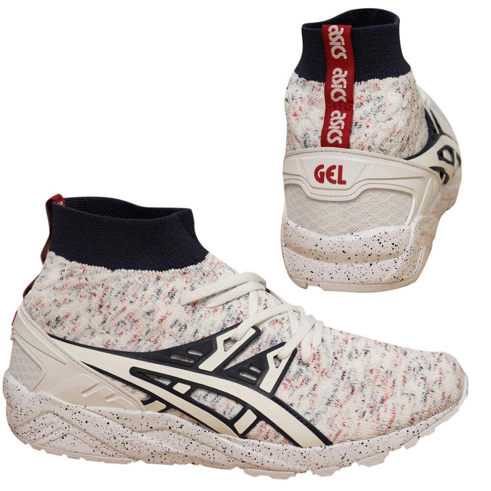 Asics Gel Kayano Knit MT MT MT Lace Up White Speckle Mens Trainers HN707 0101 U56 d3b8a8