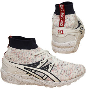 Up Asics de deporte Gel Knit White 0101 Hn707 U56 Lace Mt Zapatillas Speckle Hombre Kayano PwXrgvqndw