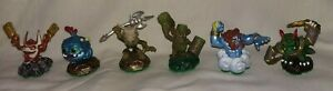 100% De Qualité Six Skylanders Figures Trigger Happy Stump Smash Démolition Voodood Dino-rang-afficher Le Titre D'origine
