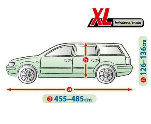 MERCEDES C KLASSE W205 Kombi T205 AUTOABDECKPLANE VOLLGARAGE GANZGARAGE XL Kombi