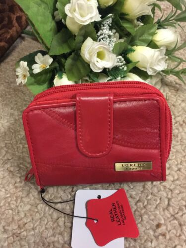 Lorenz Fashion Soft Real Leather Purse For Women's New Arrival