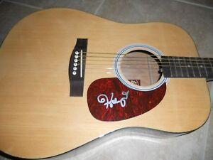 Haley Reinhart American Idol Signed Autographed Acoustic Guitar PSA Guarantee
