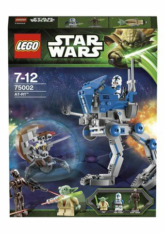 LEGO Star Wars AT-RT 75002 Discontinued by manufacturer