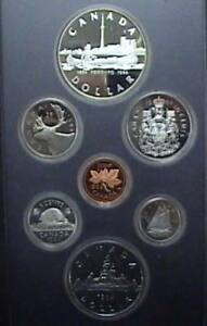 1984-Canada-Proof-Double-Dollar-Set