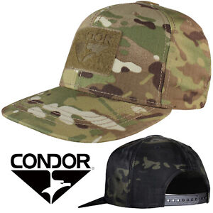 be52216c7fc Condor 161142 Flat Bill Snap Back Hook Loop Patch Trucker Baseball ...