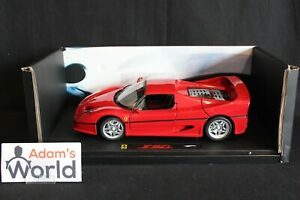 Hot-Wheels-Elite-Ferrari-F50-1-18-red-PJBB