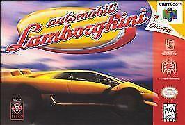 Automobili Lamborghini Nintendo 64 Authentic N64 OEM Tested Game Cart Retro Race