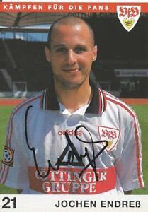 Jochen Endreß - VFB Stuttgart - Saison 1997/1998 - Autogrammkarte - Rüsselsheim, Deutschland - Jochen Endreß - VFB Stuttgart - Saison 1997/1998 - Autogrammkarte - Rüsselsheim, Deutschland