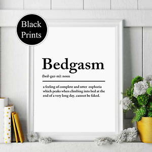 Snaccident Inspired definition various Sizes Poster Print typography print Frame Not Included