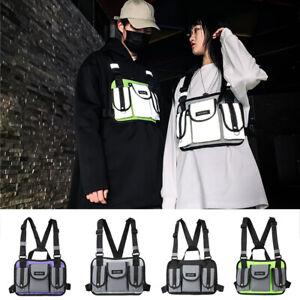 Women-Men-Chest-Bag-Oxford-Shoulder-Pouch-Streetwear-Hip-Hop-Vest-Waist-Packs