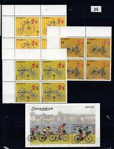 NU SOMALIA 2000 - MNH - BICYCLES - SPORT - TRANSPORT